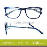 Wholesale new Fashion acetate optical frames spectacles (63-B)