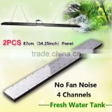 Freshwater fish live led aquarium light red and green cool white 72inch planted freshwater