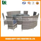 Guangdong supplier wholesale new style round used glass designer dining tables