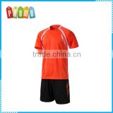 Men's Soccer Jersey football training jersey short-sleeved suit light board jersey customized football kits