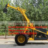SZ-5200 mobile cranes for wood telling equipment in stock wheel logger