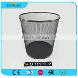 metal mesh open top indoor dustbin/waste bin