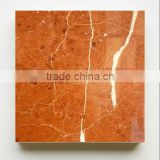 ROSSO ALICANTE red stone marble slab for floor tile and countertops