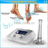 Plantar fasciiti extracorporeal shock wave therapy/shock wave physiotherapy plantar faciiti therapy machine
