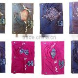 NEW GENUINE REAL LEATHER HANDMADE VARIOUS DESIGNS NOTEBOOK -HIGH QUALITY- JOURNAL - DIARY - SKETCHBOOK-NEW DESIGN 2014