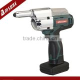 16V Li-Ion Cordless electric blind-riveting tool gun with riveting capacity 2.4,3.2,4.0,4.8mm