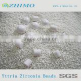 Asid proof zirconia beads for jet ink milling