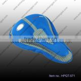 Gel bicycle saddle cover