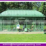 Galvanized steel Garden green house / glass green house / conservatory / sun room / gazebo