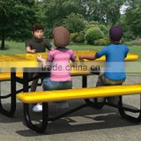Hot sale outdoor plastic bench seats, street bench,park bench