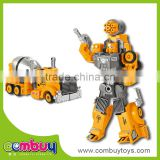 Wholesale educational transform set alloy concrete mixer truck toy