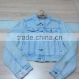 G men jean jacket men fashion coat wholesale clothing washed jean jacket in stock