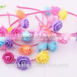 Use for gift children kids baby girls hair accessories hair bands headwear colorful flower bow Retail wholesale