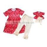 Wholesale Fashion Baby Girls And American Girl Dolls Clothing Set Boutique Dress Doll Clothes summer hot sale
