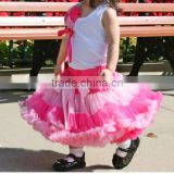 Wedding dress for girls belly dance skirt cheap tutu skirt pettiskirt ballet gowns kids petit skirt
