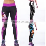OEM Design Women Sports Wear Digital Printed Sexy Yoga Leggings Badminton Sportswear