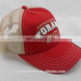 Custom Embossed beer opener on brim trucker hat unstructured Australian embroidered Trucker hats