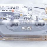 2014 New Product Marine Patrol Boat Plastic Toy