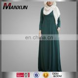 Modest Garment Islamische Kleidung Ladies Islamic Clothes Muslim Cotton Prayer Hijab Clothing
