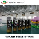 0.6/0.9mm PVC Tarpaulin Inflatable Water Marker Cylinder Inflatable Buoys , Life Buoy For Water Sport
