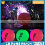 Lighting up your Concert inflatable floating advertising balloon