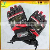 Hot Sale Cool Design Cowhide Leather Cycling Winter Gloves