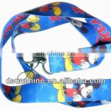 Fashion custom printed polyester lanyard neck strap and key holder lanyard manufacturer with no MOQ ,but with good price