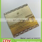 Metal stainless steel 4442 IC card