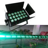 high power 18PCS 15W RGABW 5in1 led par64,dmx512 par led,led wash light,building color wash,disco lighting,Yilong light