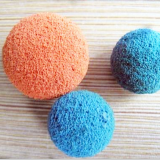 Color sponge foam rubber ball for clean pipe