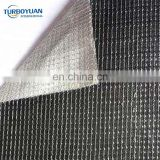 Outside silver color sunlight reflective shade net inside blackout shade curtains for greenhouse