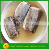 Brine preservation process and fish product type canned jack mackerel                                                                         Quality Choice
