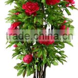 evergreen leaves fabric material fabric flowers artificial plants artificial flower plants