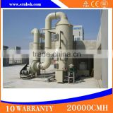 Professional Custom Environmentally Friendly Industrial Scrubbing Tower Machine High Efficiency Wet Scrubber