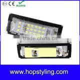 High quality led license plate light Number Plate lamp car styling auto light for BMW E39 5D