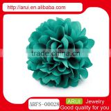 China cheap hair ornaments spring green big hair rose flower pin                                                                         Quality Choice