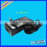 Notebook Car charger 16v 4.5a 65wh laptop ac adapter 5.5/2.5mm jack for IBM original laptop power supply
