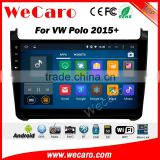 Wecaro WC-VP1056 10.2 inch android 5.1.1 car stereo audio for vw polo gps navigation system 2015 2016 Wifi 3G GPS Radio RDS