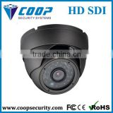 "1/3"" Panasonic CMOS 2.0MP 1080P HD-SDI 36-LED 20m Vandal IR Dome Camera True WDR"