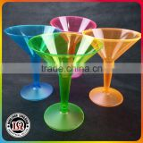 Hard Plastic Martini Clear Champagne Cup Party Drinking