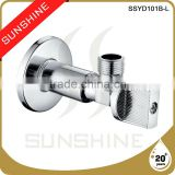 SSYD101B-L Bathroom and toilet brass angle seat valve