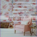 For Customer Made 100% Polyester New Arrival Printed Curtain Top Grade Window Curtain