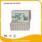 ivory card board folding paper food packaging paper chicken wing boxes