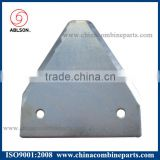 Bcs reel mower blades and segment mower knife for grass cutting