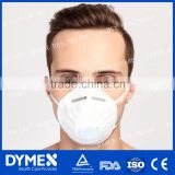 High quality disposable protective dust mask Single black nose strip