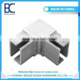 square handrail stainless steel pipe welded elbow