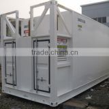 40ft outdoor fuel tanks, diesel fuel transfer tank, double wall diesel tank iso container