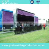 hot sale Aluminum Crowd Control Barrier used crowd control barriers for stage truss concert