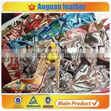 2016 fashion pu leather for high heel shoes material with artificial flowers leather                                                                         Quality Choice