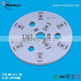 3W Round ALuminium Based Bulb & Downlight PCB,High Quality UL Approved MCPCB Manufacturer,Prototype Available